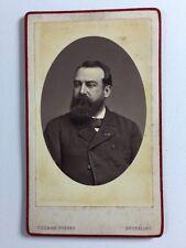 Victorian Carte De Visite CDV Photo: Gentleman: Chemar Freres: Bruxelles
