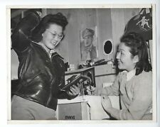 1942 Press Photo Japanese-American women on train to Manzanar California camp