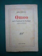 Omoo ou le vagabond du Pacifique par Herman Melville, Gallimard, 1951