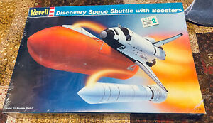 1988 Revell Space Shuttle Discovery With Boosters Factory Sealed
