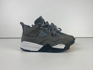 Nike Air Jordan IV 4 Cool Grey 2019 Retro BT TD Toddler (BQ7670-007) Sz. 9C