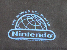 """Vintage Youth Nintendo 1991 """"The Worlds No.1 Player"""" Sweat Shirt(Made in UK)"""
