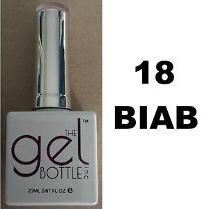 NEW The Gel Bottle Inc TGB Builder In A Bottle 18 BIAB Gel UV LED Polish 20ml