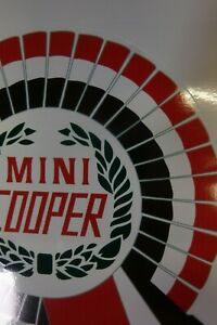 Classic BSCC Mini Cooper Graphic UK Supplier FREE P+P UK now reduced from £9.99