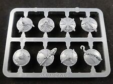 Warriors of Chaos Marauders Shields on Plastic Frame
