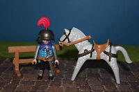 Playmobil bleu chevalier avec cheval 3627 Fête de PREDATEUR 3666 3667 CHEVALIER