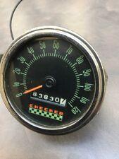 OLD CHECKER CAB 120 Mph SPEEDOMETER VINTAGE DASH STEWART WARNER RAT ROD SCTA