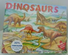New Dinosaurs 48 Jumbo Pieces Preschool Pretend Play Puzzle By Melissa & Doug