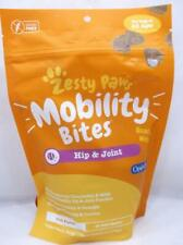 60 Zesty Paws Mobility Bites Hip & Joint Glucosamine Chondroitin MSM Soft Chews