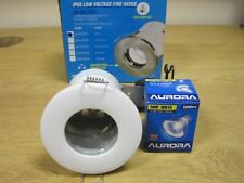 Aurora A2-DLL953W Firerated IP65 Bathroom Shower Downlight Low Voltage 12V -NEW