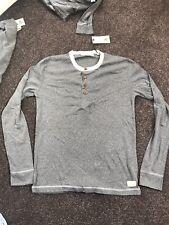 Anerkjendt Castlebrook Grey Bracken Long Sleeve T Shirt Large