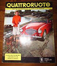 Quattroruote Ottobre 1956 N. 9 originale