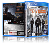Tom Clancy's: The Division - ReplacementPS4 Cover and Case. NO GAME!!