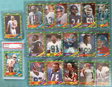 1986 Topps Complete Set Jerry Rice PSA 7 + Steve Young Reggie White Rookie RCs