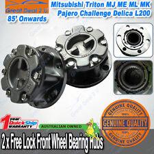 Manual Free Wheel Hubs Lock 28 spline Mitsubishi Pajero Triton MK L200 Delica