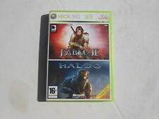 Jeux Microsoft XBOX 360 - FABLE II + HALO3 xbox360 - (complet)