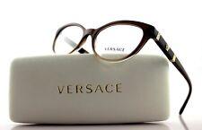 Genuine Versace Brown Gradient Medusa Womens Eyeglasses Frame Ve 3219-q 5165