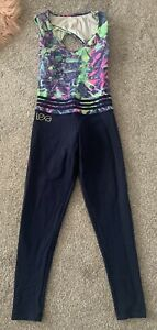 Lexa Fitness Jumpsuit All In One Gym Workout Wear Size S M