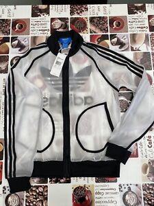 Adidas Originals Rita Ora Transparent Windbreaker Size 12