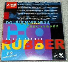 DHS C8 / C-8 Long-pips Table Tennis Rubber with Sponge, Chinese Magic, New USD