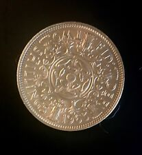 1963 Great Britain Two Shillings Rose colored toned Top Population
