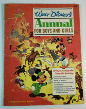 Walt Disney's Annual for Boys and Girls 1966 Pinocchio Story