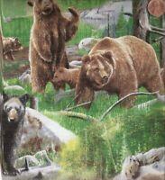 Bear Mountain wildlife Wilmington fabric