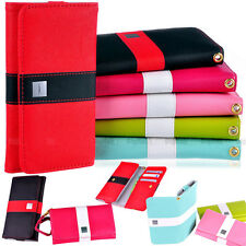 LOVE Colorful Premium Leather Wallet Case Cover For HTC ONE 801S 801e M7 + Flim