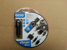 USB MOBILE CAR PHONE CHARGER KIT incADAPTS  NOKIA SONY ERICSSON SAMSUNG MOTOROLA