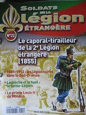 FASCICULE 22 LEGION ETRANGERE CAPORAL TIRAILLEUR 2è LEGION 1855