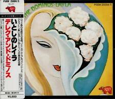 DEREK & THE DOMINOS Layla FIRST PRESS JAPAN 2 CD OBI P58W 25004/5 Eric Clapton
