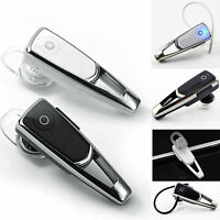 Bluetooth Earpiece Headset Ear Hook Stereo Headphones for Cell Phone Universal