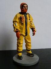 soldat de plomb - Pompier tenue de Plongeur - Montreal , canada 2003  - Delprado