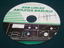 HAM LINEAR AMPLIFIER OWNER MANUALS ON CD