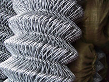 Galvanised Chain Link Fencing 4FT Tall 25 Meters Strong Garden Fencing