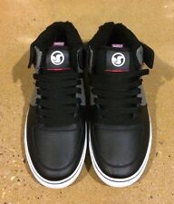 DVS Torey Size 11 Black Grey Leather Torey Pudwill BMX DC Skate Shoes Sneakers