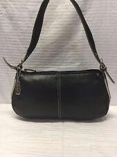 Tignanello Black Leather Purse Shoulder Bag