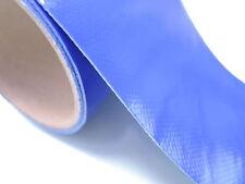 LKW PLANE REPARATUR PLANENREPARATUR PFLASTER  10cmx50cm BLAU RAL 5002
