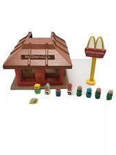 Vintage 1974 Playskool Familar Places McDonalds Playset