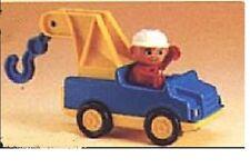 Lego Duplo Auto  Abschleppwagen Pannenhilfe  2617 Fahrer Figur Kran Tow Truck