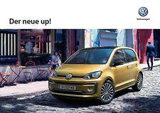 Volkswagen Vw Up ! 06 / 2016 catalogue brochure Austria German Deutsch