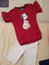 lotto 683 maglietta fusò pantalone ORIGINAL MARINES bimba bambina 4 anni