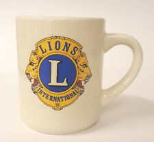 Lions International Roswell Lions Club Coffee Mug Atlanta Georgia B79