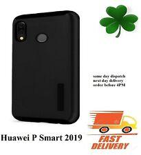 Huawei  P SMART  2019 new slim armor shock proof case cover black