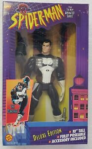 SPIDER-MAN THE ANIMATED SERIES THE PUNISHER DELUXE EDITION 10 INCH ACTION FIGURE