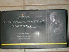 ANTENNAS DIRECT CLEARSTREAM 2 INDOOR/OUTDOOR UHF HDTV ANTENNA C2-CJM 50+ MILES