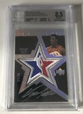 2007-08 UD Black All star Patch Dominique Wilkins 04/25 ! BGS 8.5! Rare !