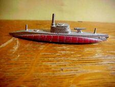 Tootsietoy Wwii Vintage Diecast Toy Submarine 99.9%