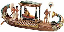 Egyptian Cleopatra's Royal Nile Barge Art Statue Figurine Treasures Collection