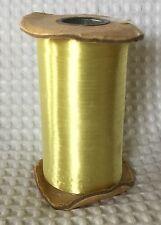 """Vintage Coronet Hi-Sheen Gift Tye 3/16"""" Rayon Warp Acetate Film Back"""